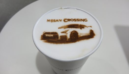 銀座 NISSAN CROSSING CAFE マキアート