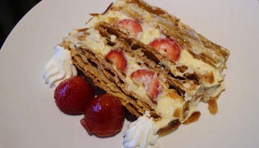 """GINZA THE GRAND Ginza Lounge """"Strawberry Millefeuille"""""""