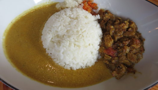 "GINZA GINZA MUSIC BAR ""Vegan curry"" 