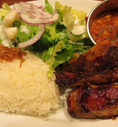 BROOKLYN CITY GRILL CHICKEN BBQ PLATE