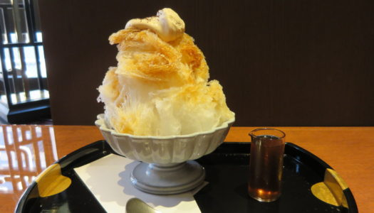 "GINZA Kanno coffee ""Shaved ice of natural ice"" 