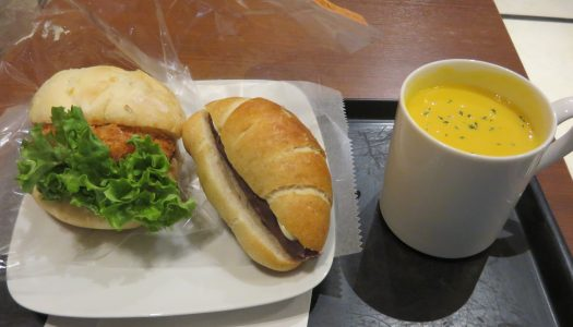 "YURAKUCHO Saint-germain Tandresse@ITOCIA ""Ebi katsu sandwich and Shio butter – An butter"""
