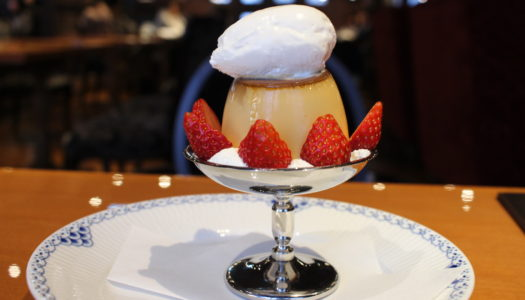 """GINZA Kanno coffee """"Strawberry's pudding a la mode"""" 